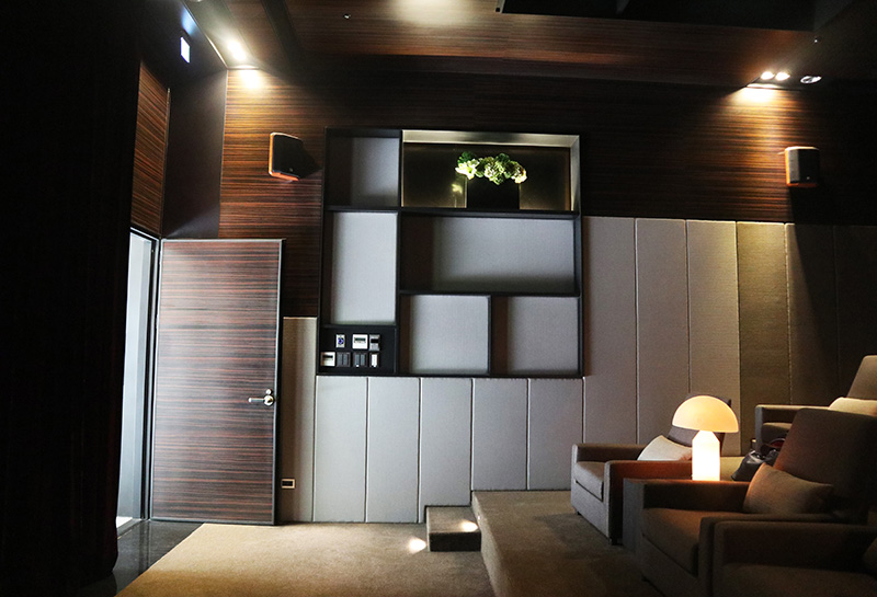 【180 Professional Soundproof Door】Cathay Real Estate Taichung- Audio Visual Room