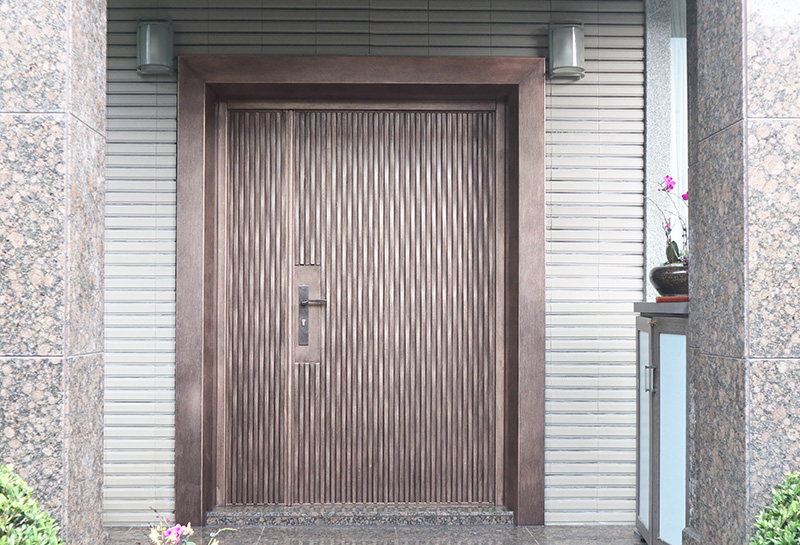 【H3 Lake Ripple Cast Aluminum Red Bronze】Residence of Ou- Taipei