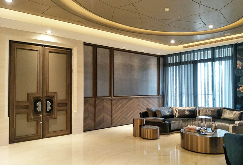 【Type 180 Door for Public Buildings】Fu Yu Construction- Taichung